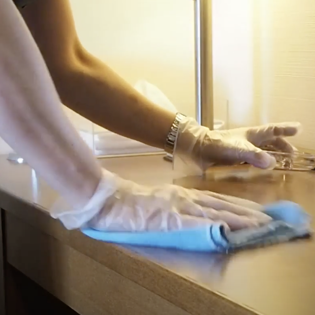 ホテルグリーンコアのコロナウィルス対策