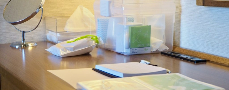 ホテルグリーンコアのコロナウィルス対策(客室)